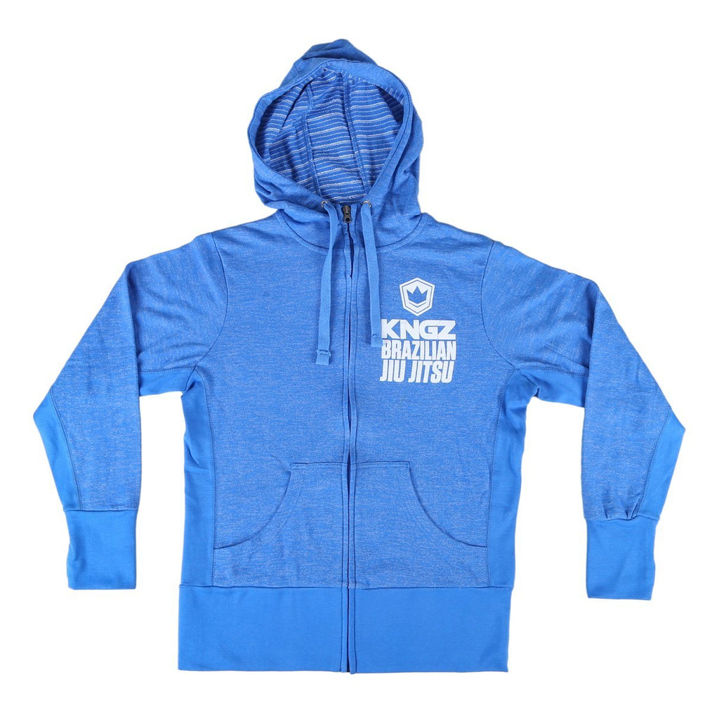 King'z Brazilian Jiu Jitsu Women's Hoodie - Blue