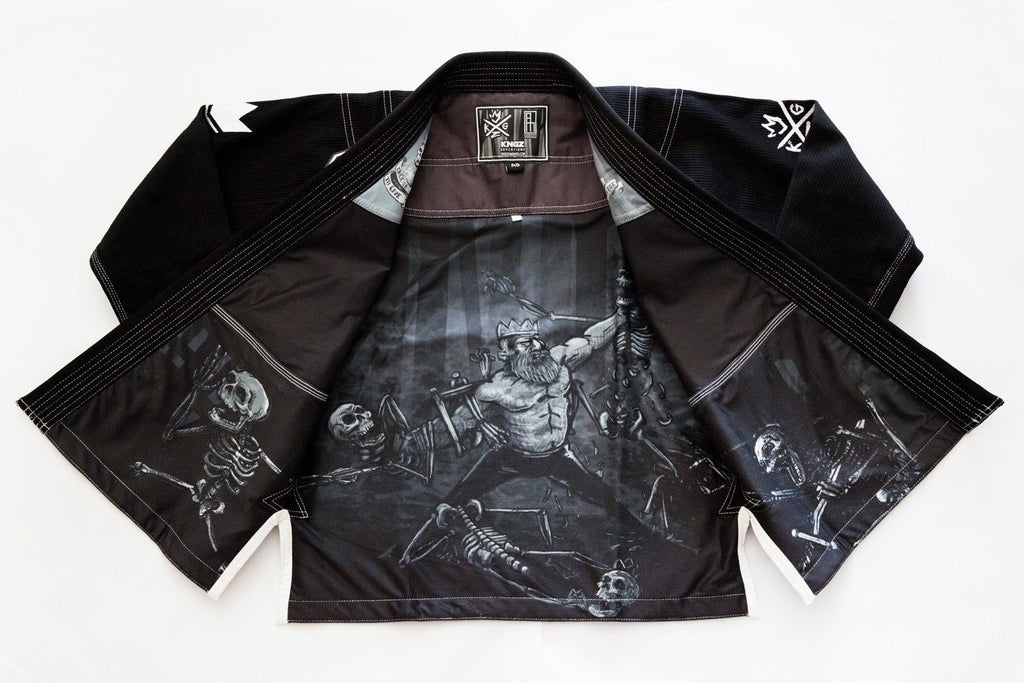 The Sovereign 2.0 Kimono - Black