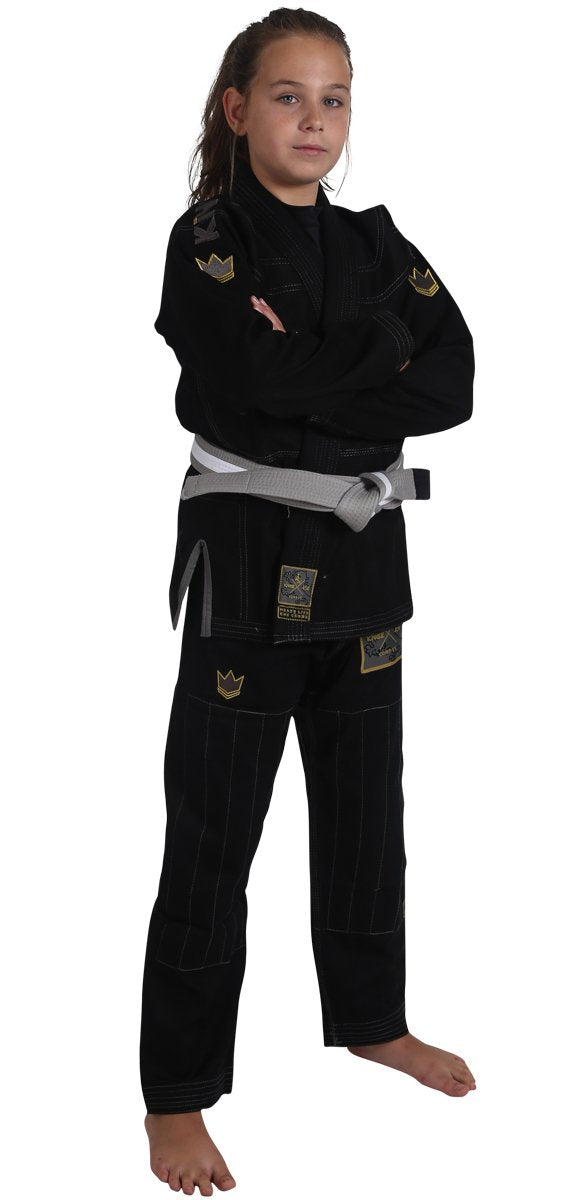 Kid's Comp V5 Jiu Jitsu Gi - Black