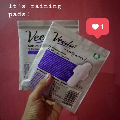 Why Veeda Natural Pads?