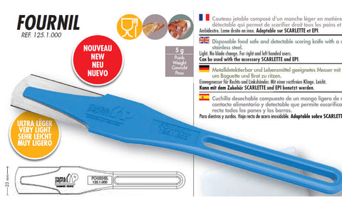 NEW PRODUCT - Mure & Peyrot Fixed Blade Lame, Model Fournil