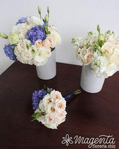 Bouquet de novia Blue