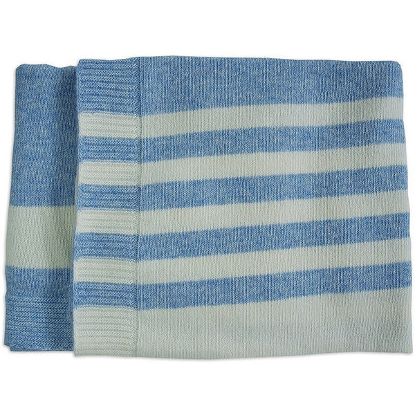 Merino Kids Lambswool blanket Sky Blue