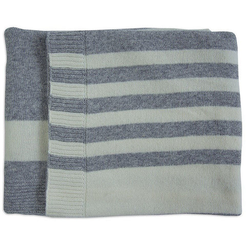 Merino kids Lambswool blanket Grey