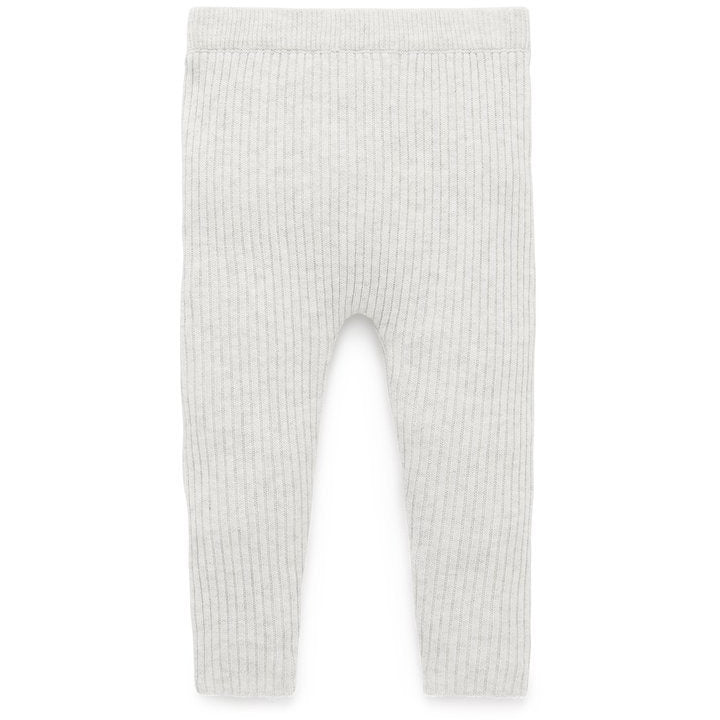 Purebaby Knit Rib Legging Cloud