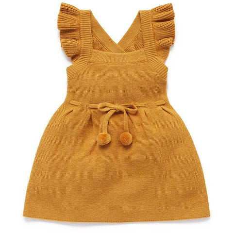 Purebaby Knitted Pinafore