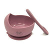 Suction bowl & spoon set
