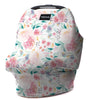 Milk snob car seat cover floral - Primrose