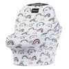 Milk Snob car seat cover Rainbows