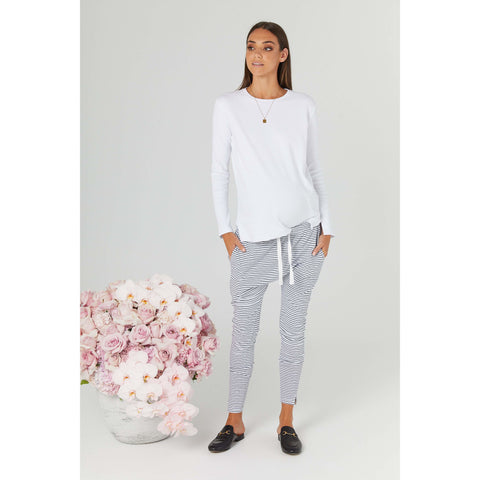 Top Rancho Relaxo Jumper White