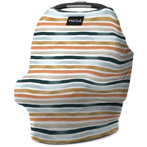 Milk Snob car seat cover Summer Stripes