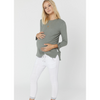 Legoe Belagio Nursing Top Mineral Green