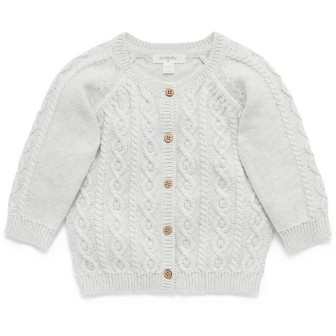Cloud Cable Cardigan