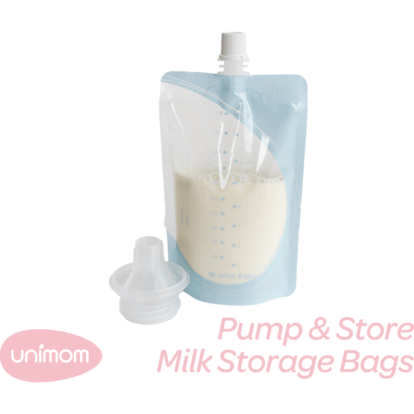 Unimom pump and store storage bags