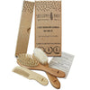 Shellamy baby 3 piece Wooden brush & comb set