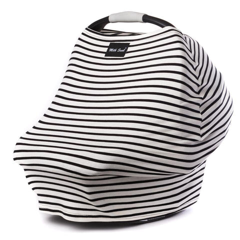 Milk Snob car seat cover Stripe Milky
