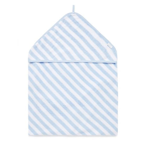 Purebaby Hooded towel Blue stripe