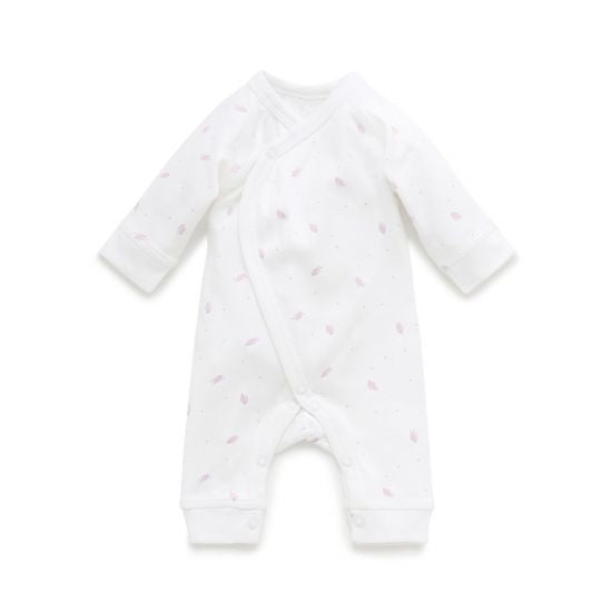 Premi crossover Growsuit - Pale pink leaf