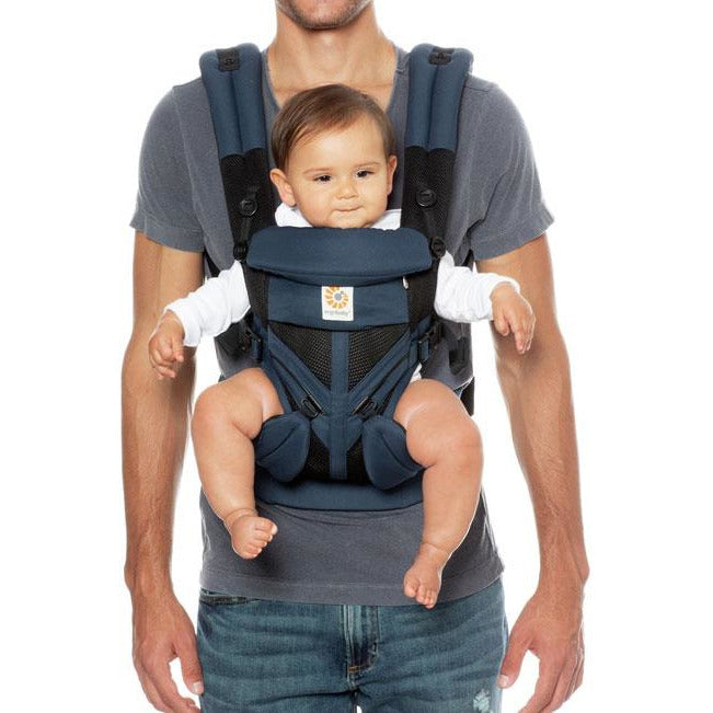 Ergobaby - Omni 360 carrier. Raven Cool air mesh