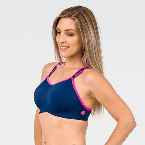 Cadenshae Bra Ultimate Navy/Pink