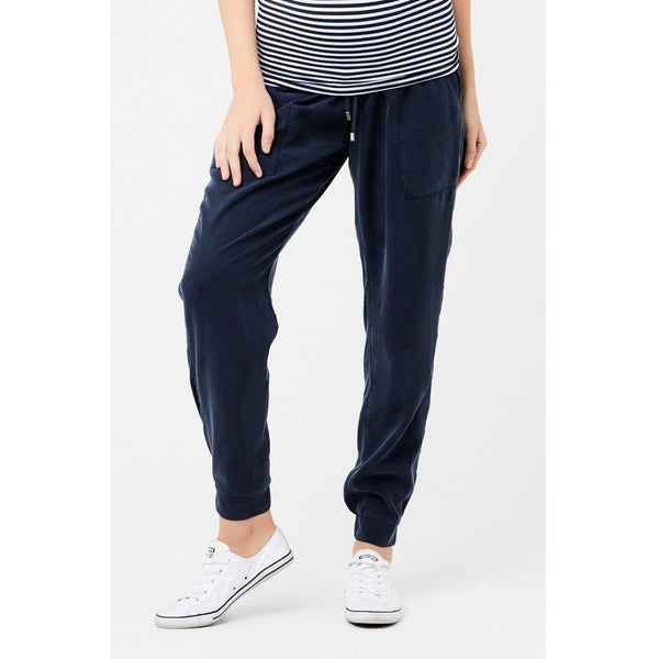 Pant Tencel off duty Navy