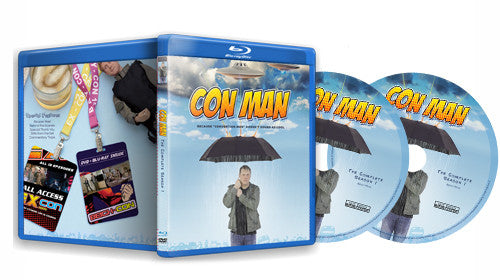 Con Man DVD & BluRay Combo Pack