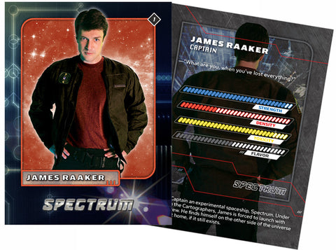 James Raaker Trading Card