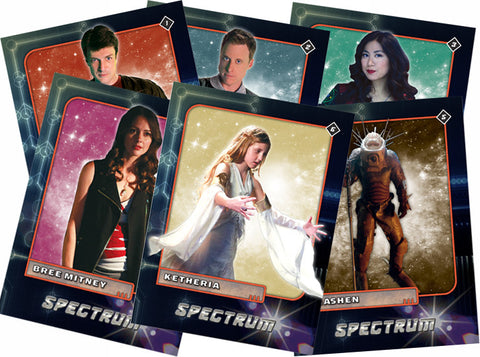 Spectrum Full Trading Card Set