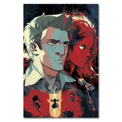 Spectrum Issue #0 Cover Art Poster