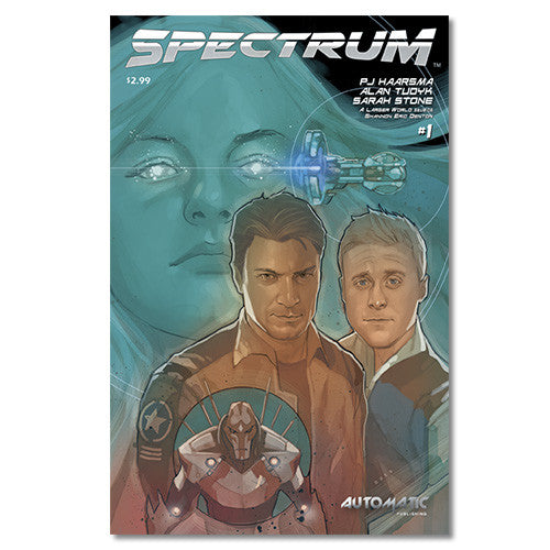 Spectrum Comic Issue #1 - ALT COVER #1