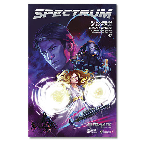 Spectrum Comic Issue #0 ALT COVER
