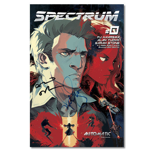 Spectrum Comic Issue #0  Signed by Nathan Fillion and Alan Tudyk