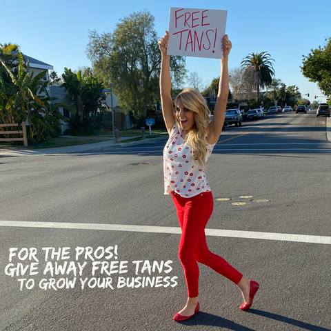 Episode 12 Give Away Free Tans To Grow Your Business