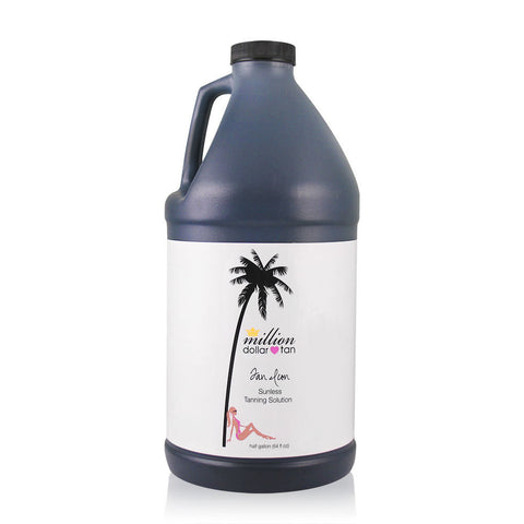 Tan Icon Half Gallon (64oz)  Professional Spray Tan Solution - Medium