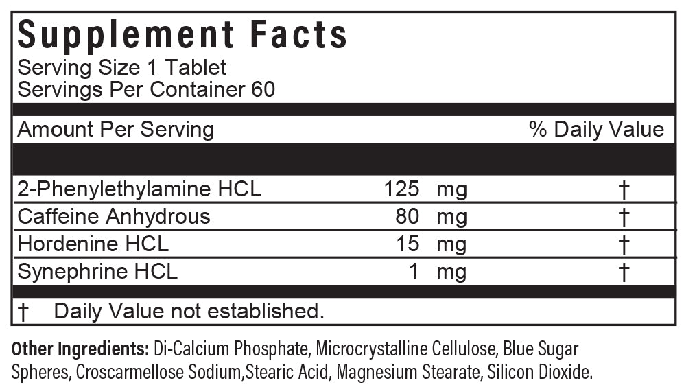 PhenterPro SR ingredients