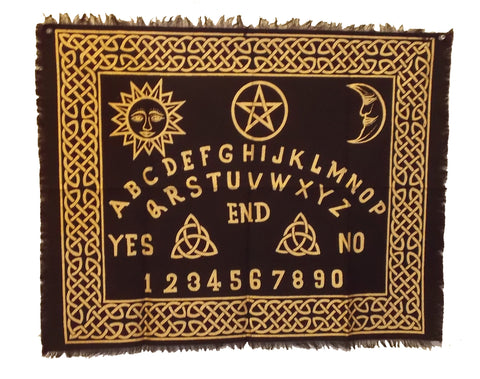 Ouija Board Altar Cloth / Tarot Cloth - The Eccentric Muse