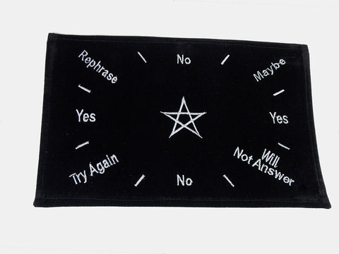 Pentagram Pendulum Mat - The Eccentric Muse