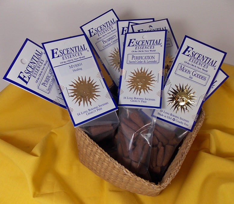 Escential Essences Incense Cones - The Eccentric Muse