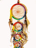 Rainbow 5 Ring Dreamcatcher - The Eccentric Muse