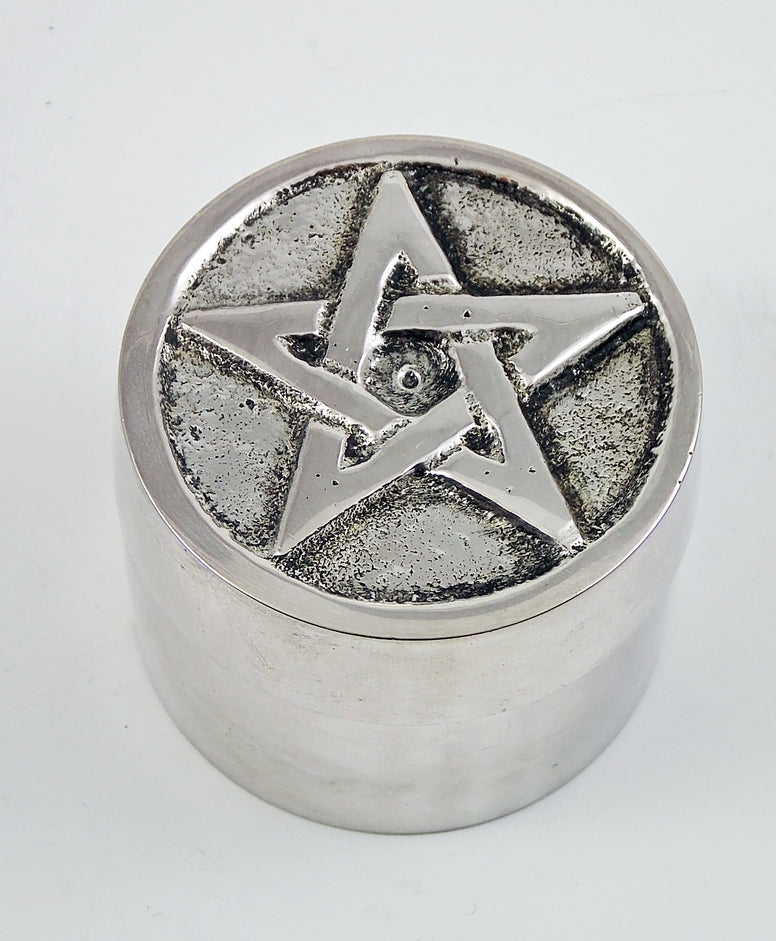 Screw-Top Pentacle Tea Light Candle Holder - The Eccentric Muse