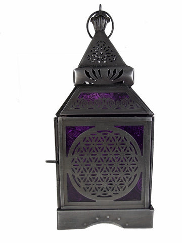 Flower of Life Tea Candle Lantern - The Eccentric Muse