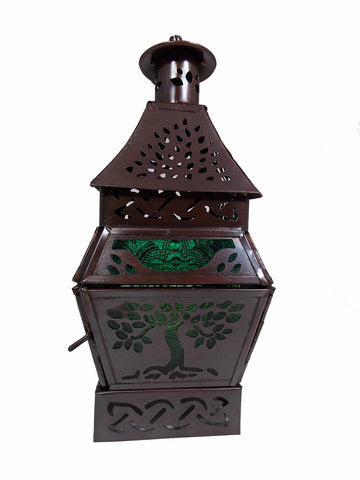 Tree of Life Tea Candle Lantern - The Eccentric Muse