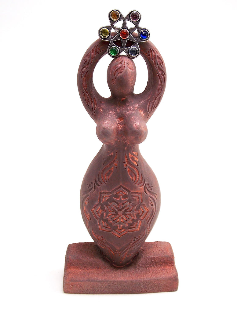 Lotus Goddess Figurine - The Eccentric Muse