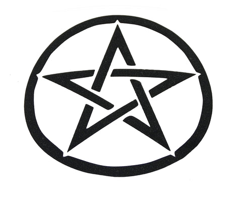 Pentacle Sticker - The Eccentric Muse
