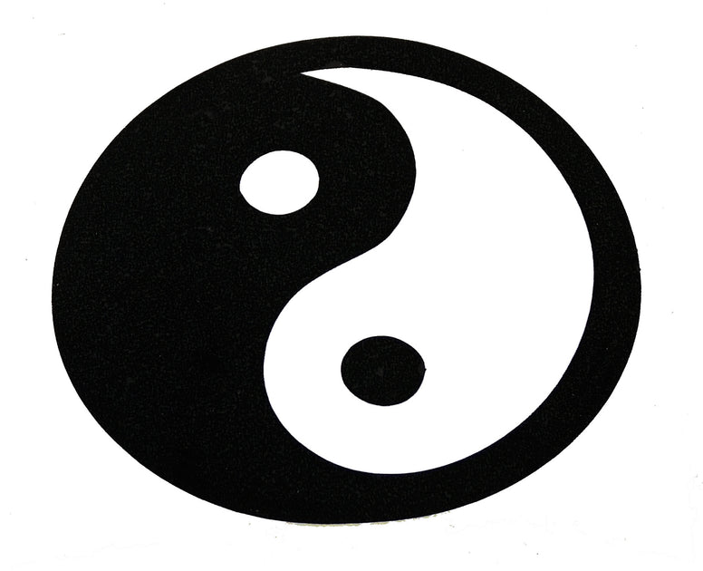 Yin Yang Sticker - The Eccentric Muse