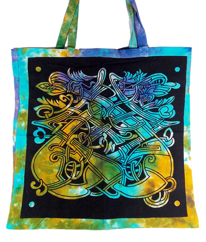 Celtic Dragon Tote Bag - The Eccentric Muse