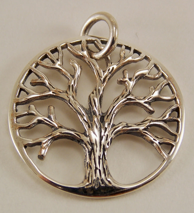 Sterling Silver Tree of Life Pendant - The Eccentric Muse