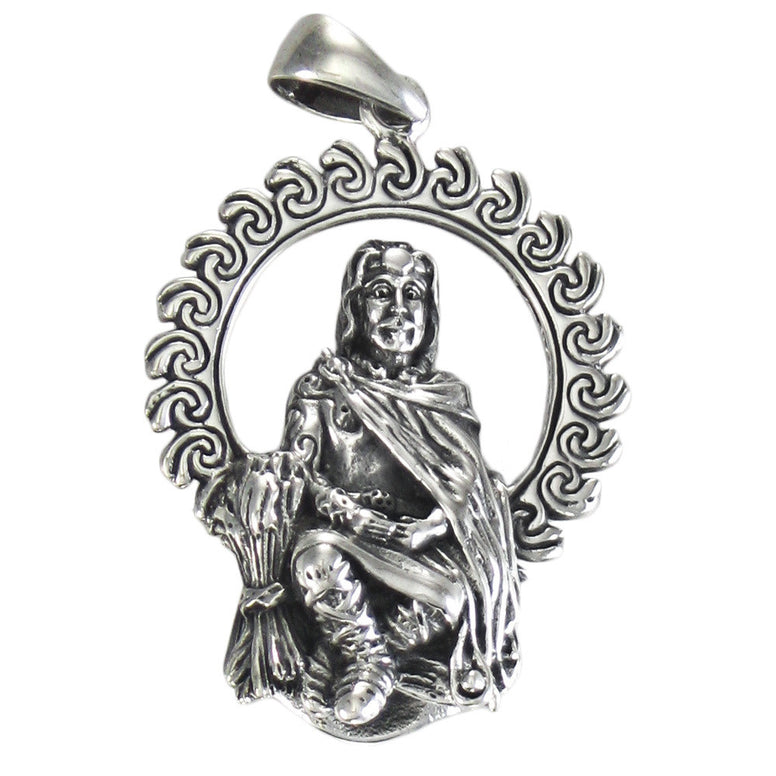 Sterling Silver Lugh Pendant - The Eccentric Muse