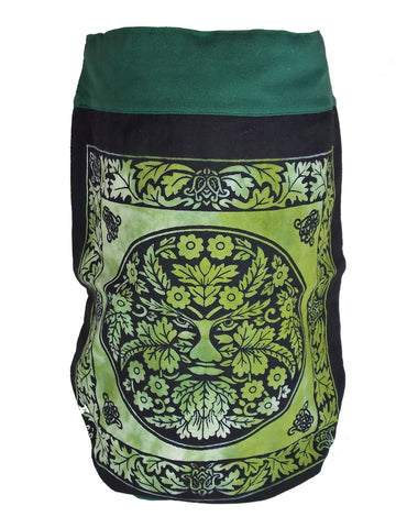 Green Man Backpack - The Eccentric Muse
