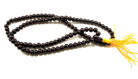Rosewood 108 Bead Japa Mala / Prayer Bead - The Eccentric Muse